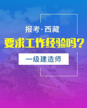 2019年西藏一级建造师报考条件 - 报名条件